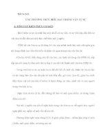 Tiết 1+2+3: CÁC PHƯƠNG THỨC BIỂU ĐẠT TRONG VĂN TỰ SỰ ppt