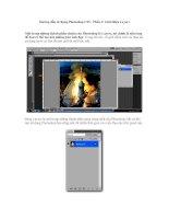 Hướng dẫn sử dụng Photoshop CS5 - Phần 3: Giới thiệu Layers doc
