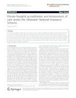 Amporfu Health Economics Review 2011, 1:13 docx