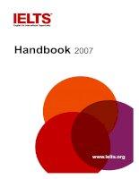 IELTS Handbook 2007 pptx
