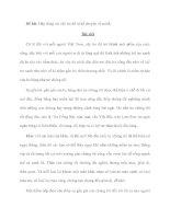 Đề bài: Hãy đóng vai cây tre để tự kể chuyện về mình pdf