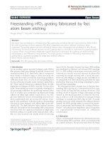 Wang et al. Nanoscale Research Letters 2011, 6:367 potx