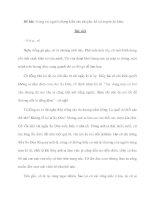 Đề bài: Trong vai người chứng kiến câu chuyện, kể lại truyện Sọ Dừa doc