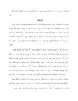 Đề bài: Hãy kể lại câu chuyện Bánh chưng, bánh giầy theo trí tưởng tượng của em. potx