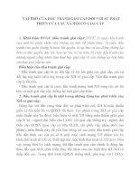 VAI TRÒ CỦA ĐẤU TRANH GIAI CẤP ĐỐI VỚI SỰ PHÁT TRIỂN CỦA CÁC XÃ HỘI CÓ GIAI CẤP pdf