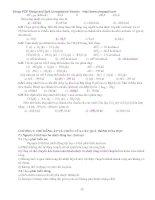 Giáo trình bài tập hóa đại cương (Phần 5) pptx