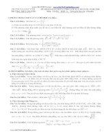 Đề thi thử đại học khối A toán lần 4 Chuyên ĐHV