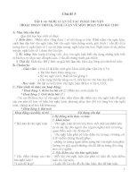 Tiết 1-6: NGHỊ LUẬN VỀ TÁC PHẨM TRUYỆN (HOẶC ĐOẠN TRÍCH), NGHỊ LUẬN VỀ MỘT ĐOẠN THƠ BÀI THƠ doc