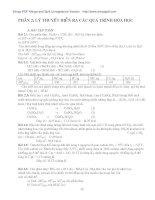 Giáo trình bài tập hóa đại cương (Phần 4) pdf