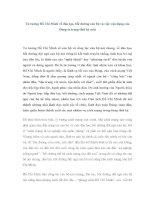 Tư tưởng Hồ Chí Minh về đào tạo, bồi dưỡng cán bộ và việc vận dụng của Đảng ta trong thời kỳ mới pot