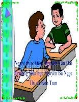 Giáo án toán lớp 2 : Ôn tập về các số trong phạm vi 1000 (tiếp theo) docx