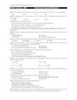 Đề thi thử tốt nghiệp môn vật lý_THPT Chuyên Trần Đại Nghĩa docx