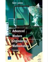 Advanced Modern Engineering Mathematics  Third Edition