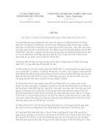 Chỉ thị số 03/2012/CT-UBND pot