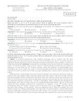 Đề ôn thi trắc nghiệm đại học môn tiếng anh 2012_6 pdf