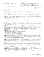 Đề luyện thi đại học môn vật lý 2012_2 pdf