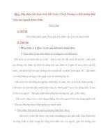 Đề 1: Hãy phân tích đoạn trích Đất Nước ( Trích Trường ca Mặt đường khát vọng của Nguyễn Khoa Điềm) ppt