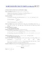 60 ĐỀ TOÁN ÔN THI TN THPT (có đáp án) Đề số 7 potx