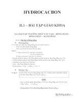 bài tập hidrocacbon có hướng dẫn giải chi tiết