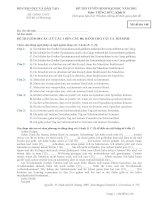 Đề thi tuyển sinh đại học môn tiếng Đức năm 2012 khối D-Mã 148 pdf