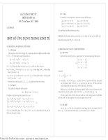 toán cao cấp tóm tắt công thức