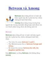 Between và Among pdf