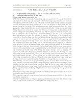 Bài giảng vật liệu kỹ thuật Điện-Điện tử: Chương 2 pdf