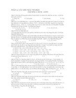 Tài liệu ôn thi Hóa 2012 ppt