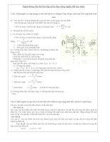 Ngân hàng câu hỏi ôn tập môn học công nghệ chế tạo máy ppt