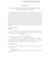 Bài toàn luồng cực đại với khả năng thông qua các cung các đỉnh pdf
