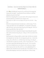 CHƯƠNG I : LÝ LUẬN CHUNG VỀ QUẢN LÝ NHÀ NƯỚC VỀ KINH TẾ (Phần 1) docx