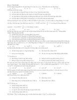 Đề số 1 Mã đề 004 pdf