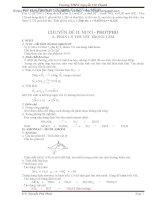 Lý thuyết và bài tập hóa học 11 cơ bản và nâng cao(Phần 2) doc