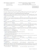 Đề ôn thi trắc nghiệm cao đẳng môn hóa học 2012 khối A_5 doc