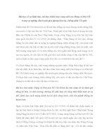 Bài học về sự lãnh đạo, chỉ đạo chiến lược sáng suốt của Đảng và Bác Hồ trong sự nghiệp đấu tranh giải phóng dân tộc, thống nhất Tổ quốc ppt