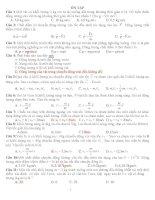Ôn tập trắc nghiệm vật lý pdf