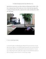 5 lời khuyên giúp bạn chọn được tấm thảm vừa ý pot