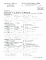 Đề ôn thi trắc nghiệm đại học môn tiếng anh 2012_4 pdf