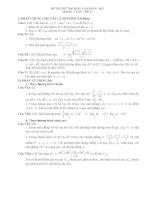 Đề thi thử đại học môn toán năm 2012_Đề số 2 ppt
