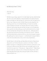 Đọc hiểu truyện Thuốc ( Lỗ Tấn ) potx
