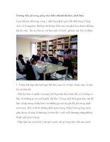 Hướng dẫn phương pháp đọc hiểu nhanh tài liệu, sách báo ppt