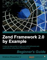 Zend framework 2 0 by example