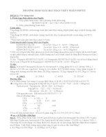 phương pháp giải bài toán thủy phân peptit