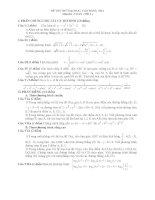 Đề thi thử đại học môn toán năm 2012_Đề số 1 docx