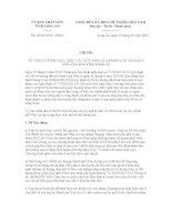 Chỉ thị số 03/2012/CT-UBND pptx