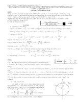 Bài toán con lắc lò xo ôn thi đại học