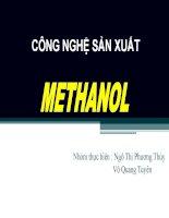 SEMINAR-TONGHOP METHANOL pot