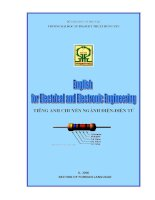 English for Electrical and Electronic Engineering doc