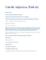 Unit 06. Adjectives (Tính từ) potx