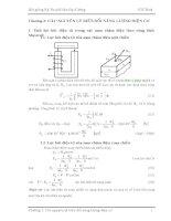 Bài giảng Kỹ thuật Điện đại cương-Chương 2 pptx
